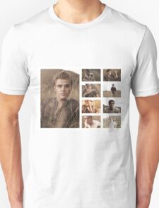 Paul Wesley grass photoshoot Unisex T-Shirt