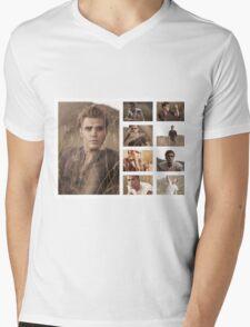 Paul Wesley grass photoshoot Mens V-Neck T-Shirt