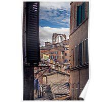Siena Landscapes Poster