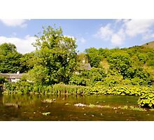 The River Wye at Upperdale  Photographic Print