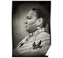 Dakota Woman Poster