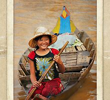Cambodia - So Poor So Happy by Malcolm Heberle