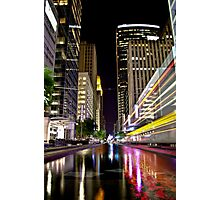 Main St. Reflections Photographic Print