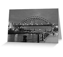 Tyne Bridge Newcastle Greeting Card