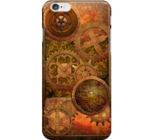 Steampunk Copper and Brass iPhone Case/Skin