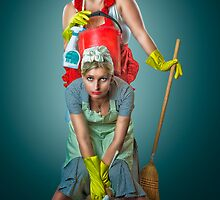 Retro Housewives by Erik Brede