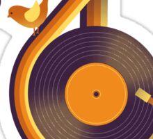 Retro Music Sticker