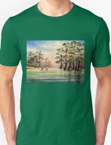 Canoeing The Suwannee  T-Shirt