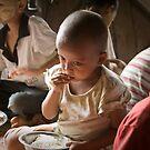 Burmese Girl by Steve Malcomson