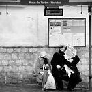 Paris - Place du Tertre by Jean-Luc Rollier