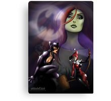 Gotham Sirens Canvas Print