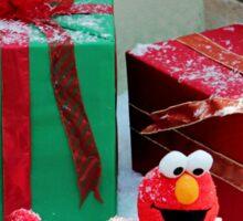 Elmo With Presents Sticker