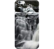 Spring Runoff at Stinson Falls iPhone Case/Skin
