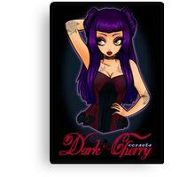 Dark Cherry Canvas Print