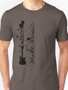 Make Music (Electric Guitar)  T-Shirt