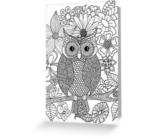 Who Gives a Hoot? Greeting Card