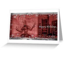 The Spirt of the Season - Detroit  Greeting Card