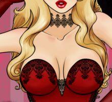 Little Miss Burlesque Sticker