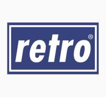 Retro - Blue Kids Clothes