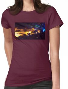 Rave Rocks Womens Fitted T-Shirt