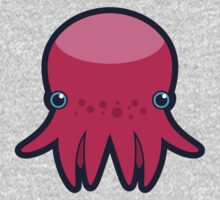 Terrence the Octopie - Just Chilling One Piece - Long Sleeve