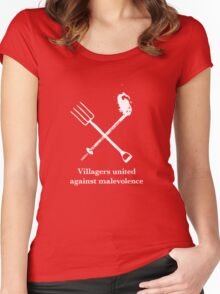 Villagers united Women's Fitted Scoop T-Shirt