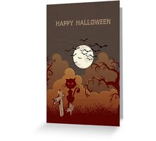 Happy Halloween #3 Greeting Card