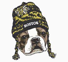 Boston Terrier Beanie by MudgeStudios