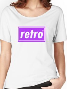 Retro - Purple Women's Relaxed Fit T-Shirt