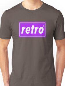Retro - Purple Unisex T-Shirt