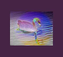 Swan mirror in pastels Unisex T-Shirt