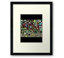 Glitch Framed Print
