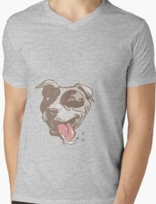 American Pit Bull Terrier Mens V-Neck T-Shirt