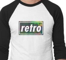 Retro - Multicoloured Men's Baseball ¾ T-Shirt