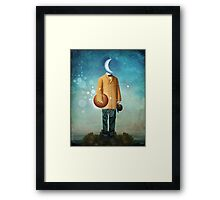 Mr. Universe Framed Print