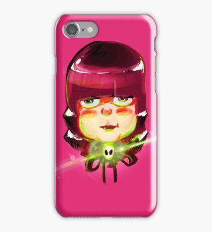 Alien Girl 2 iPhone Case/Skin