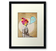 Miss Lady Bird Framed Print