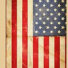 Old American Flag by Vantesx
