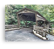 Mill Creek Covered Bridge Canvas Print