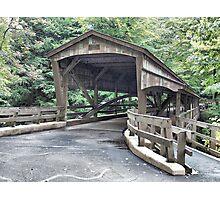 Mill Creek Covered Bridge Photographic Print