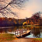 Autumn Sunset by Linda Miller Gesualdo