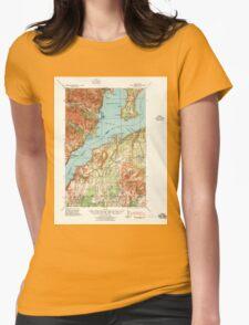 USGS Topo Map Washington State WA Point Misery 243170 1940 62500 T-Shirt