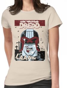 The walking dredd - original Womens Fitted T-Shirt