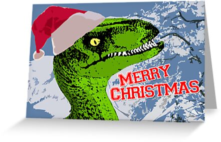 Merry Cretaceous! by digihill