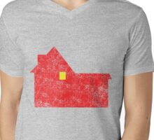 Home Alone House Mens V-Neck T-Shirt
