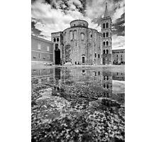 Reflection of Donat Photographic Print