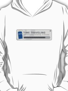 Time Traveling Pop Up Window T-Shirt