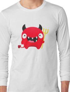 Happy Demon Long Sleeve T-Shirt
