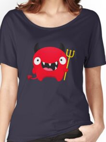 Happy Demon Women's Relaxed Fit T-Shirt