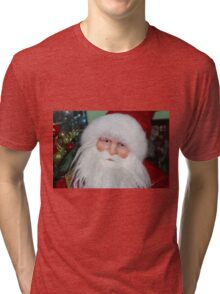 Santa Face Tri-blend T-Shirt